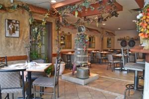 Romi's Italian Restaurant Pizza Etobicoke Toronto interior wine press 2 550 copy